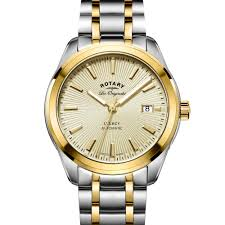 rotary legacy men s automatic two tone swiss watch gb90166 03 rotary legacy men s automatic two tone swiss watch gb90166 03