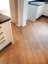 kitchen vinyl flooring karndean design flooring opus wp314 cera install with 5mm border