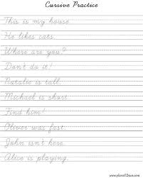 Hand Writing Sheets Practice Cursive Writing Sheets Magdalene Project Org