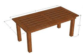 outdoor dining table wood plans. table_01_overview outdoor dining table wood plans o