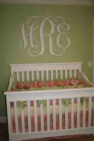 beautiful wooden wall monogram for nursery kids wall monograms