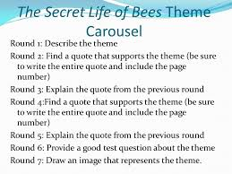 Secret Life Of Bees Quotes Stunning The Secret Life Of Bees Themes Ppt Video Online Download