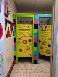 Elementary school bathroom Kids School Fun School Bathroom John Guilfoil Public Relations Shelly Hollis On Environment Leader In Me Pinterest School