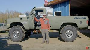 1986 Chevy Army Truck with a 8.1 L Vortec 8100 big-block V8 ...