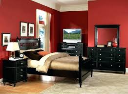 Red And Black Bedroom Decor Red Black And White Bedroom Black And ...