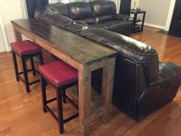 sofa table plans. inspiring bar height sofa table visionexchangeco pic for plans trends and home theater style