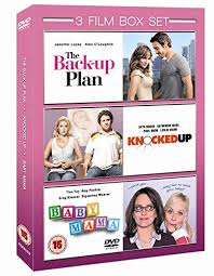 Amy Poehler Birth Plan The Back Up Plan Knocked Up Baby Mama Dvd Films At World Of Books
