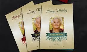 39 Funeral Program Templates Pdf Psd Docs Free
