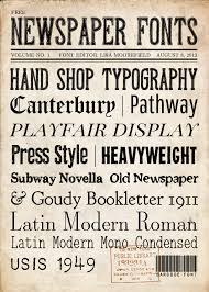 Newspaper Fonts Free Newspaper Fonts And Backgrounds Love These For The