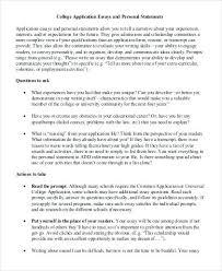 Example Of Personal Essays Examples Of College Essay Bitacorita