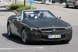 Mercedes SL - latest spy pics   Autocar
