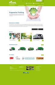 Web Design Agency Abu Dhabi Another Website Design For Five M Waste Management Company