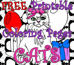 10 Free Printable Cat Coloring Pages For Kids Hubpages
