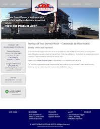 colorado drywall supply website history