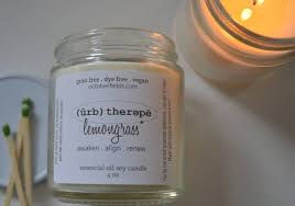 essential oil candles. Unique Oil October Fields Farm Essential Oil Soy Candles  4 Oz Intended A