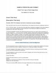 Sample Press Release For Book Send Press Releases To Promote Your Book Nonfiction Author And