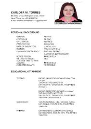 Carlota M. Torres Updated Resume