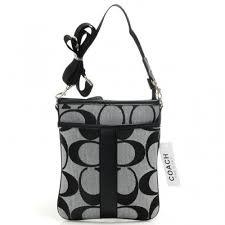 Coach Legacy Swingpack In Signature Small Grey Crossbody Bags AIH