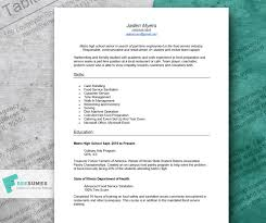 Excel Resume Examples A Resume Example For Teens Tips For How To Write Your