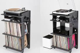 Developed By Turntable Lab, A New York-based Record Store, The  Station Is $349 Console For Gear And Storage. All Images Via Kickst Curbed a