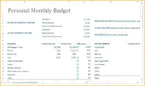 Personal Finances Spreadsheet Finance Spreadsheet Template Excel Income Expenses