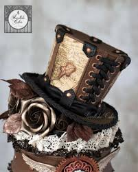 Top Hat Cake Designs Steampunk Top Hat Cake Topper Cake Creative Cakes Cake
