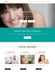 Dental Web Template Health Website Templates Dreamtemplate