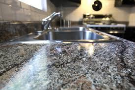 after painted granite countertop