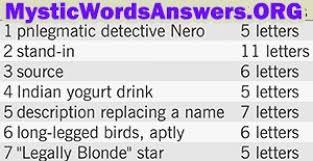 inspirational longlegged bird crossword puzzle clue knowing other templates long legged 11 bonus 7 little words