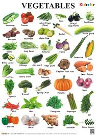 Vegetables Chart Buy Vegetable Chart Book Online At Low Prices In India