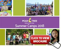 Summer Camp Pamplets Summer Camps Vancouver 2018 Pear Tree Education
