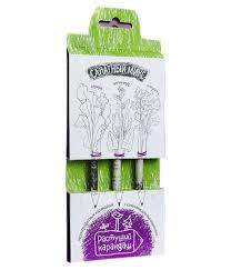 <b>Растение Растущий карандаш</b> Салатный микс чернографитные ...