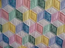 Blocks Baby Quilt & Tumbling Blocks Baby Quilt Adamdwight.com