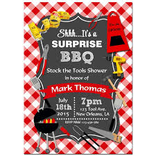 Barbeque Invitation Tool Shower Barbeque Invitation By That Party Chick