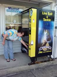 Used Live Bait Vending Machine For Sale Inspiration Sportsman Live Bait Vending