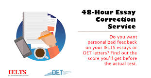 hour writing correction ielts and oet oet letter and ielts essay correction