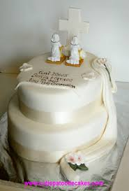 First Holy Communion Twin Girls Cakes And Cupcakes First Holy