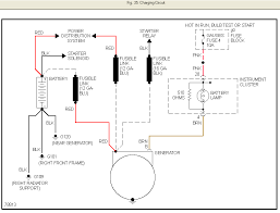 gmc wiring diagram valves disconnecting the alternator wires graphic