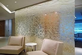 decorative glass panels for sofa background