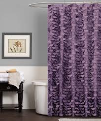 Fine Purple And Silver Shower Curtain Georgia Httpwwwgrandprixafterpartycom Pinterest With Modern Ideas