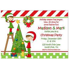 Images Of Christmas Invitations Amazon Com Christmas Party Invitation Christmas