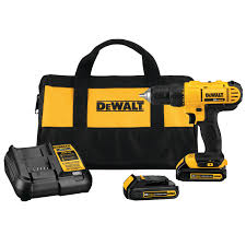 20v Max Lithium Ion Compact Drill Driver Kit