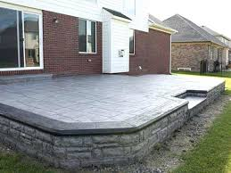 stamped concrete patio with fire pit cost. Contemporary Patio Marvelous Patio Concrete Cost Stamped With Fire Pit How Much Is Intended Stamped Concrete Patio With Fire Pit Cost I