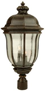 Exterior Post Lamps - Exterior light fixtures