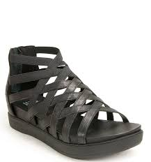 eileen fisher airy caged sandal