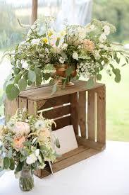 flowers wedding decor bridal musings blog: wedding flowers and crates for cards dasha caffrey photography bridal musings wedding blog