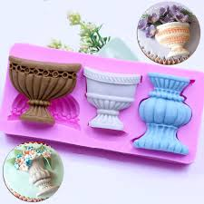 Wilton Cake Decorating Accessories Enchanting Fondant Silicone Mold Cake Decorating Tools Sculpture Pot Urn