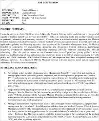 Medical Job Description - Solarfm.tk