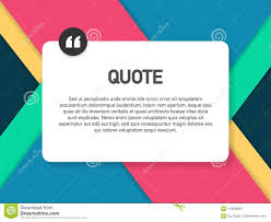 Quote Background Vector Creative Modern Material Design Quote
