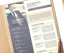 Impressive Resume 21 Fresh Professional Resume Cv Templates To Get Your
